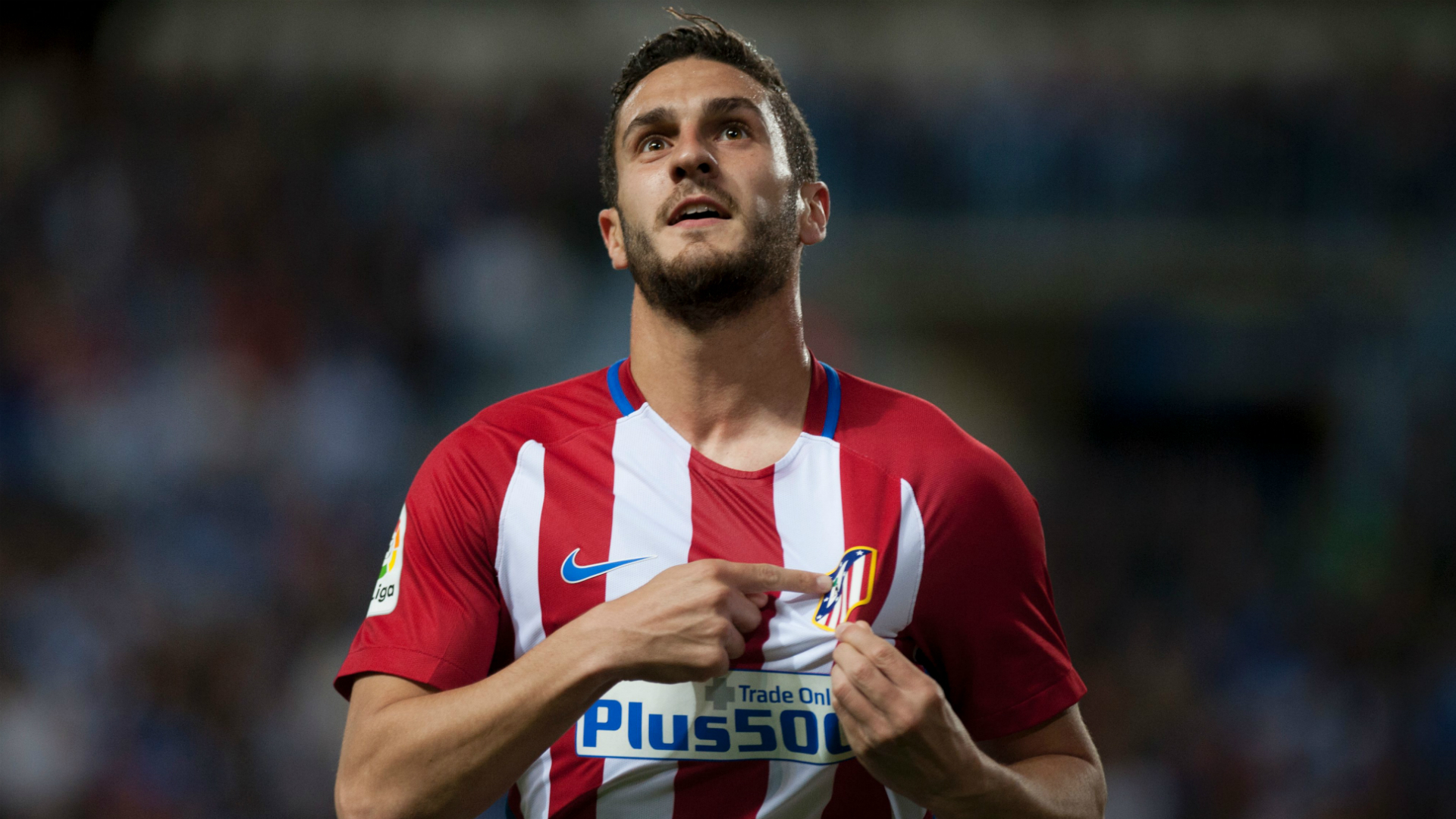 Koke Malaga Atletico Madrid La Liga