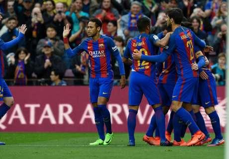 LaLiga: Barca und Atletico souverän