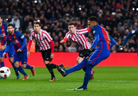 Neymar shines as Barcelona progress
