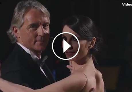 ► Mancini baila un tango