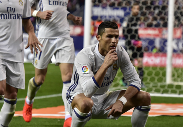 Ronaldo MOCKED for Madrid derby celebration... by his own son!