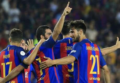 Ratings: Barcelona 3-0 Sevilla