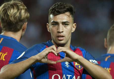 Valencia make offer for Barca's Munir