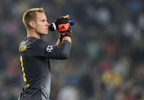 Ter Stegen: Barca are at Bayern's level