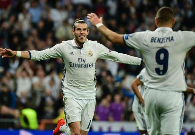 Real Madrid 5-1 Legia Warsaw: Bale on target as Zidane's men run riot