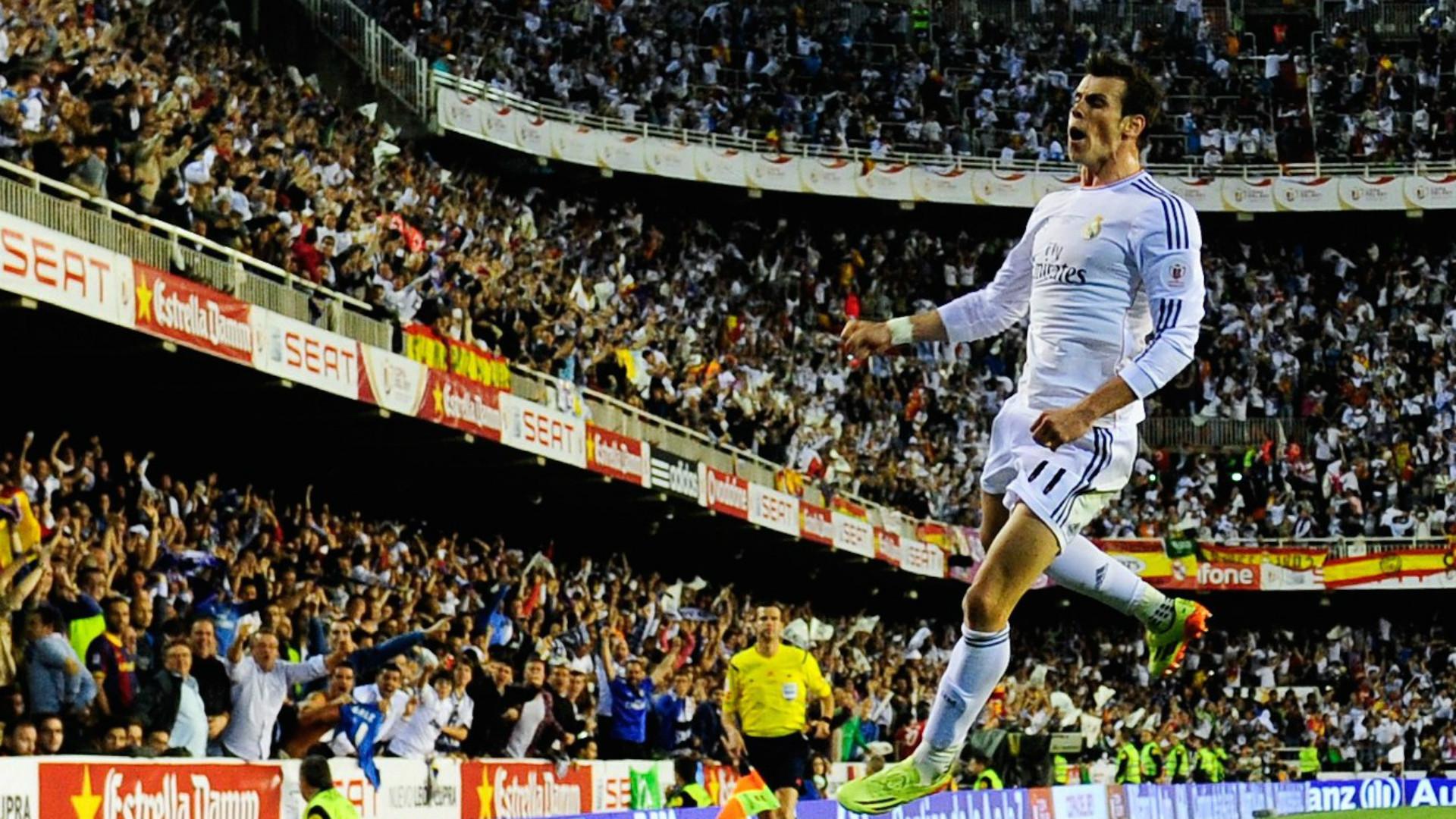 Gareth Bale Real Madrid Barcelona Copa del Rey 04172014