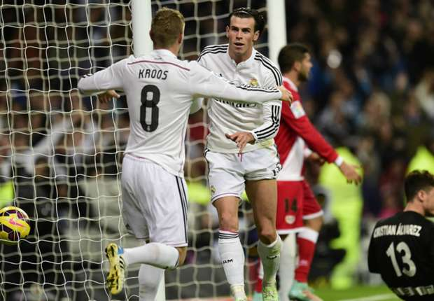 Real Madrid 5-1 Rayo Vallecano: Bale sparks Blancos rout