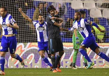 Liga, 14ª - Cinquina del Deportivo