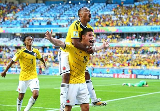 Las curiosidades del Colombia 3-0 Grecia