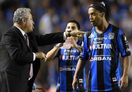 Ronaldinho no piensa en la retirada