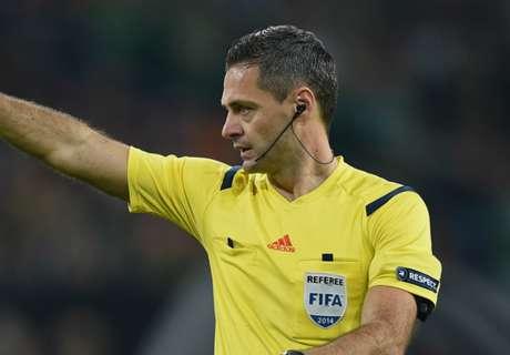 Skomina to referee Madrid v Man City