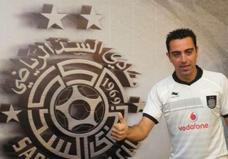Xavi voit Mahrez chez un grand d'Europe