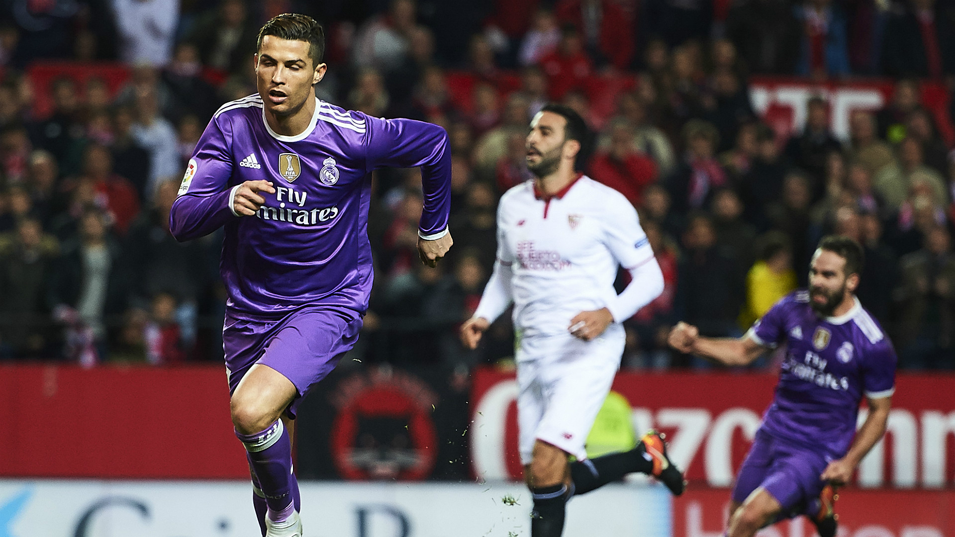 Real Madrid 1 2: Sevilla 2-1 Real Madrid: Jovetic Ends Merengue Unbeaten