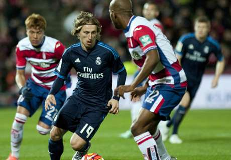 Modric: Madrid can't always score lots!