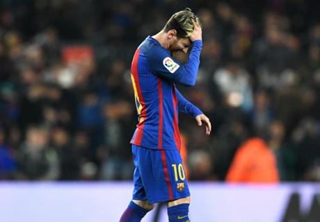Messi suffering worst Clasico run