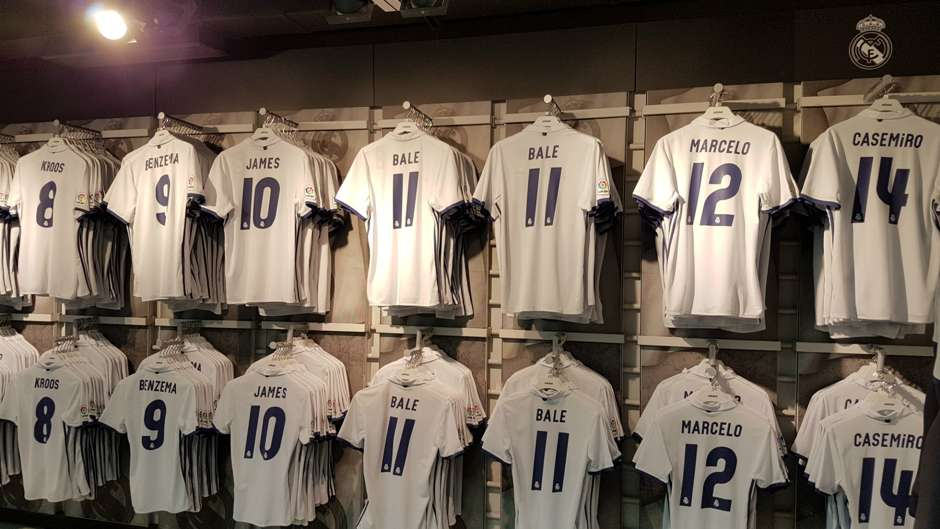 Real Madrid kits 16-17