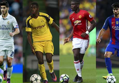 GALLERY: Age of recruitment by clubs