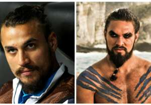 Daniel Osvaldo y Khal Drogo, de 'Game of Thrones'.