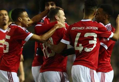 FA Cup: Derby 1 x 3 Man. United