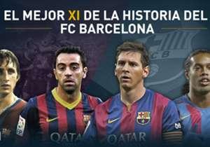 Goal montou um time com os melhores jogadores que vestiram a camisa catalã nos seus 117 anos de história. Confira!