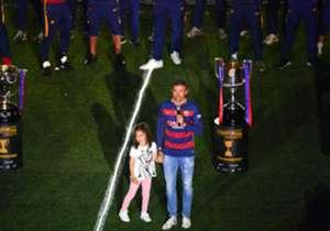 El técnico asturiano se marcha del Barça con un sobresaliente currículo compuesto de nueve títulos, de los trece en los que ha participado