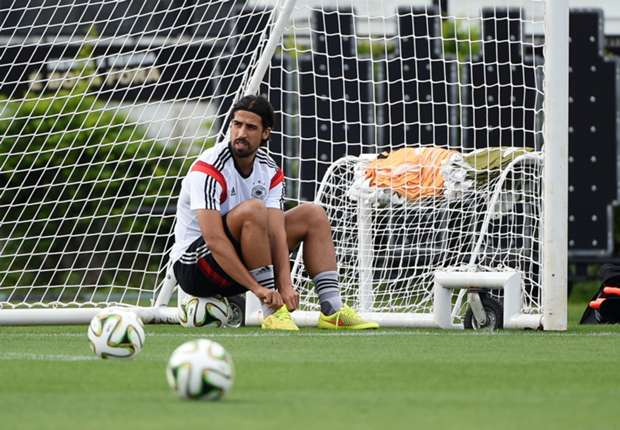 Sami Khedira se lesiona con Alemania