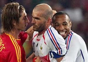 27 de junio de 2006 | Mundial | España 1-3 Francia | Villa; Ribery, Vieira y Zidane