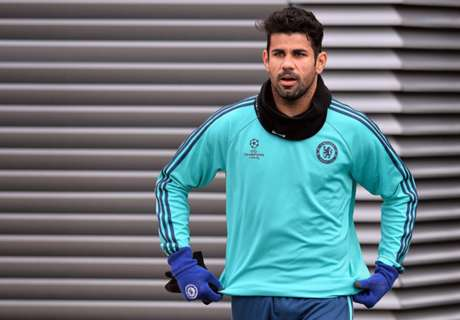 Costa bricht sich die Nase