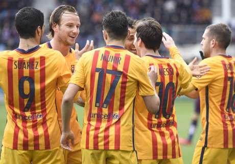 La búsqueda del cuarto delantero para el Barça