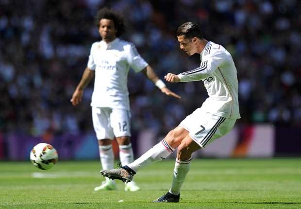 Ronaldo brach per Freistoß-Flatterball den Bann für die Königlichen