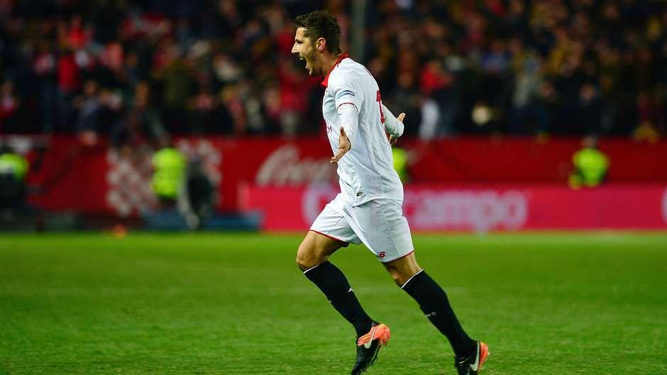 Stevan Jovetic Sevilla Real Madrid La Liga 15012017