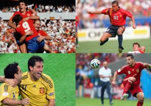 Hacemos un repaso por la historia para ver cómo han evolucionado las camisetas que ha utilizado la selección española.
