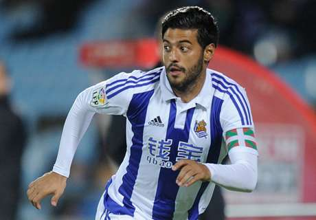 Vela scores in Sociedad loss