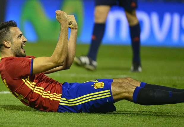 Espagne-Angleterre 2-0, La Roja s