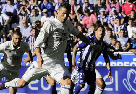 Does Cristiano really rely on penalties?