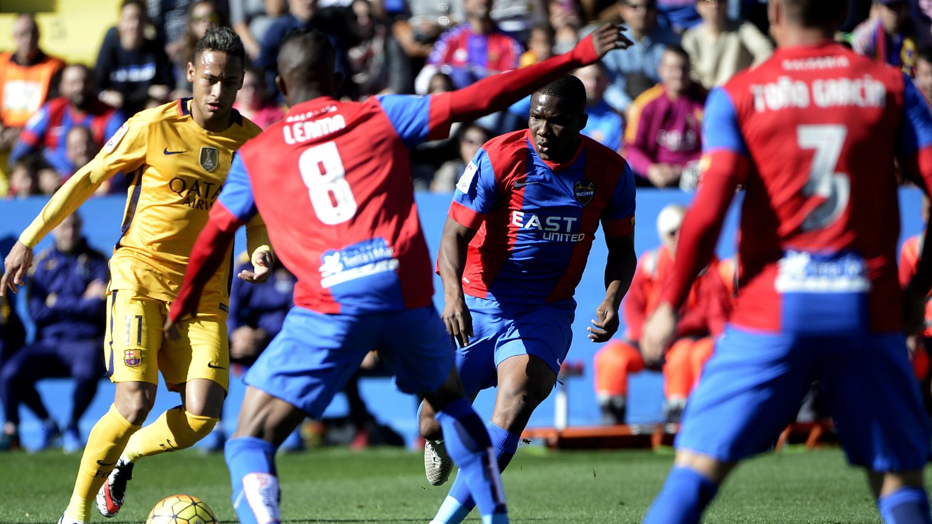 Neymar Levante Barcelona Liga BBVA 07022016