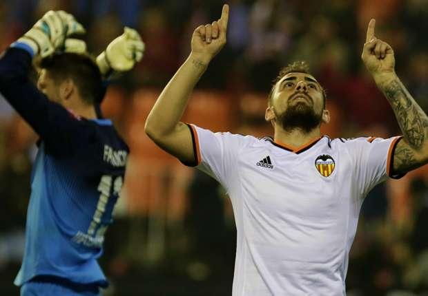 Kam, traf und siegte: Valencia-Stürmer Paco Alcacer