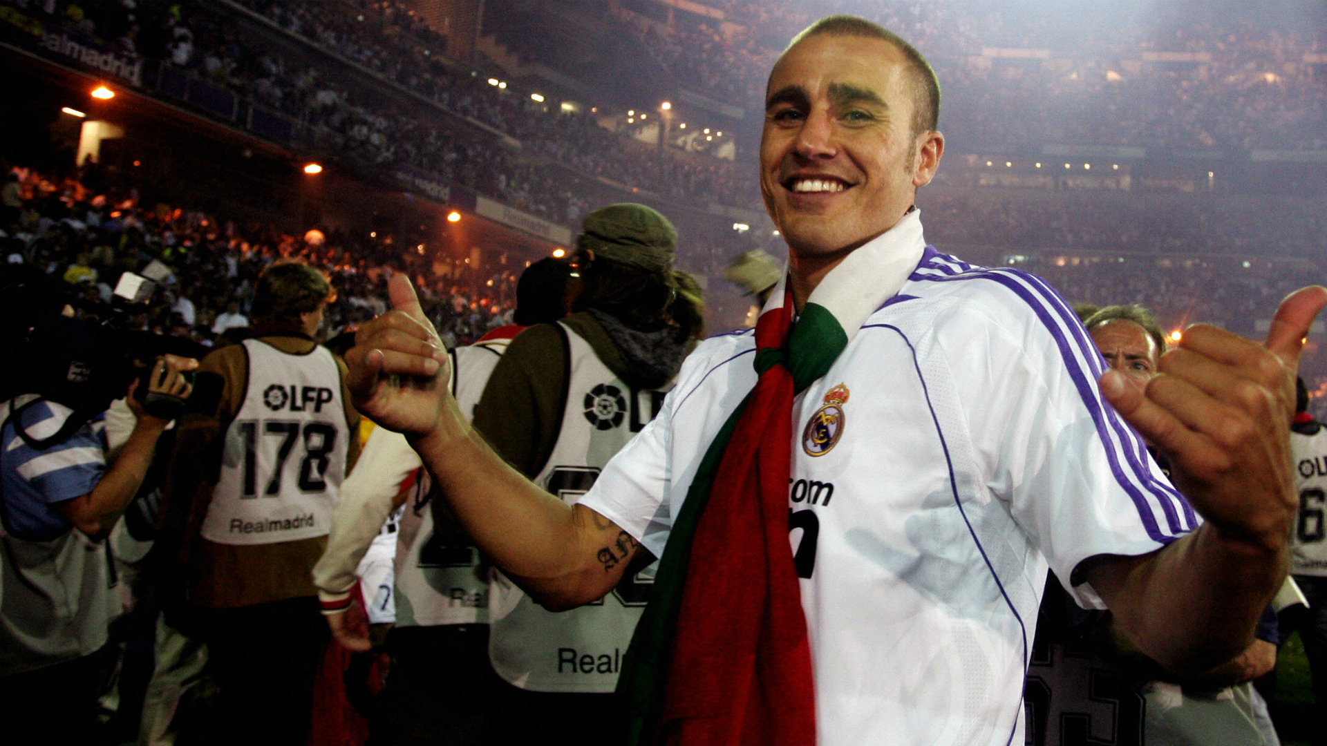 Fabio Cannavaro Real Madrid