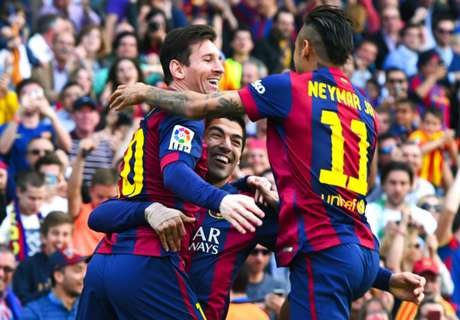 MSN Closing In On Barca Mark