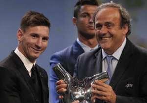 """Die User von UEFA.com können bis zum 23. August für ihren Favoriten zum Tor der Saison <a href=""""http://de.uefa.com/goal-of-the-season/index.html"""">abstimmen</a>. Der Sieger wird zwei Tage später bekannt gegeben."""