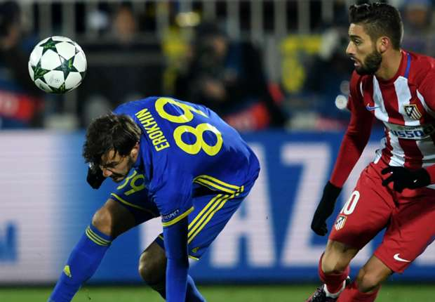 Rostov 0-1 Atletico Madrid: Carrasco nabs Rojiblancos winner