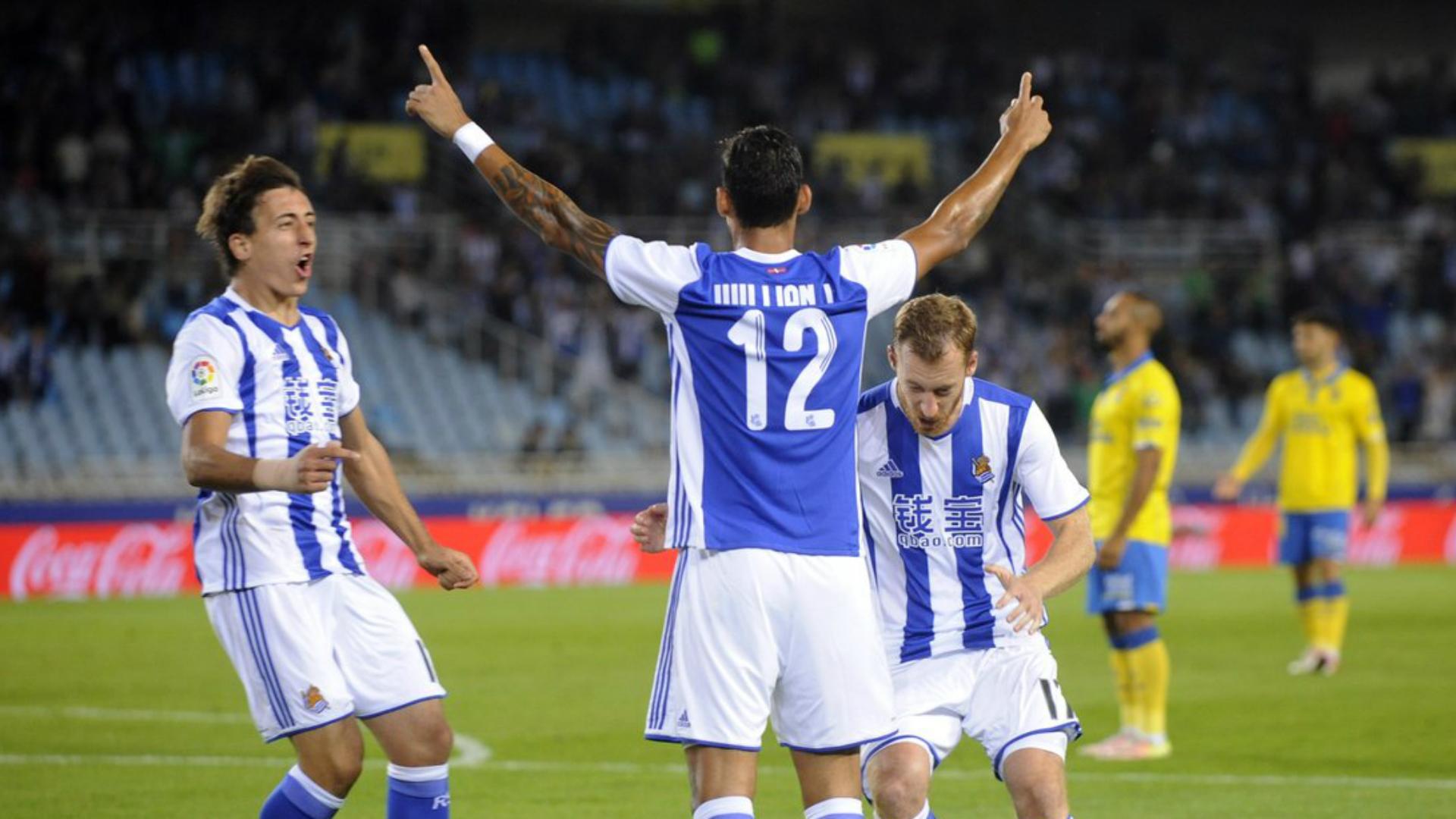 Willian Jose Real Sociedad Las Palmas La Liga