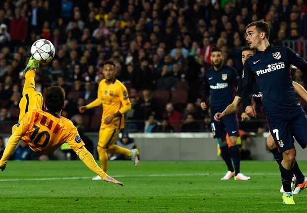 Antoine Griezmann Patahkan Dominasi Lionel Messi Di La Liga Spanyol