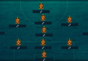 Aunque todavía falta tiempo para la Copa del Mundo de 2022, este podría ser el equipo que se utilizaría. El fútbol profesional parece evolucionar a un 3-5-2, por lo que España lo adaptaría con dos carrileros de largo recorrido y tres hombres en la medu...