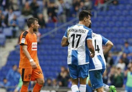 LaLiga: Espanyol 3-3 Eibar