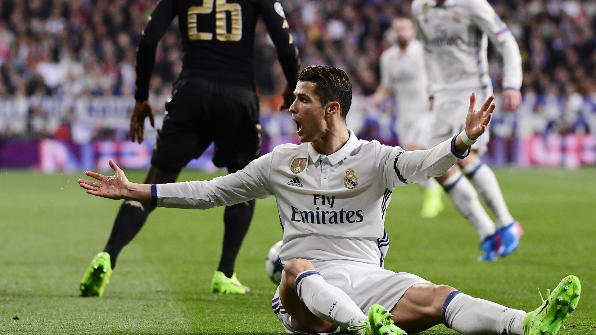 Cristiano Ronaldo Real Madrid Napoli Champions League
