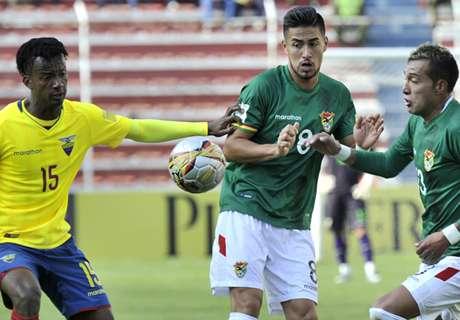 Eliminatorias: Bolivia 2-2 Ecuador