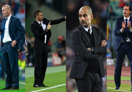 Los 20 nominados a mejor entrenador