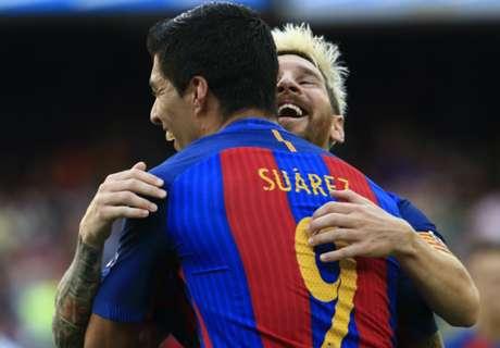 Dura parada para Messi y cía