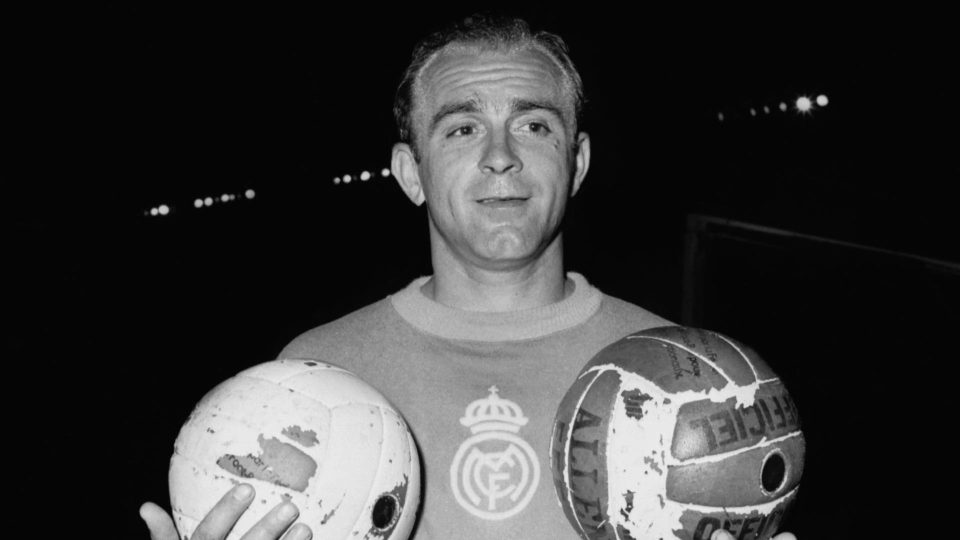 Alfredo Di Stefano Real Madrid Goal